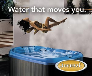 Jacuzzi. Water that moves you.
