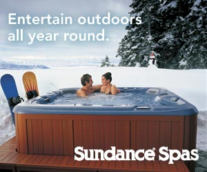 Sundance. Entertain outdoors all year round