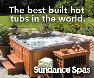 Sundance. The best built hot tubs in the world
