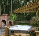 hot tub gazebo and pergola picture